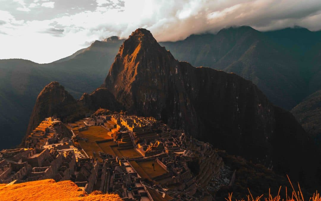 Machu Picchu mountains landscape climbing