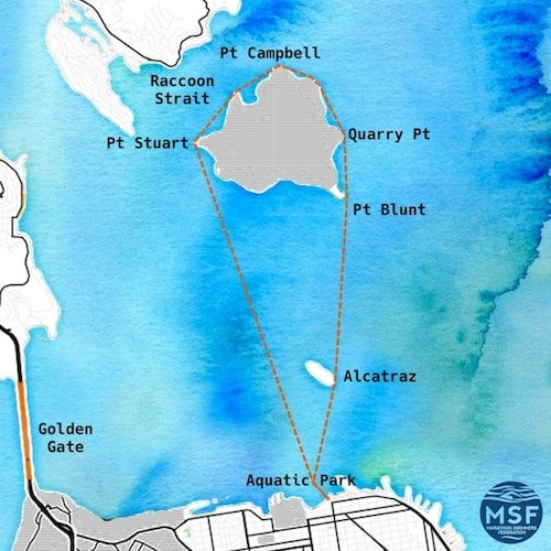 Angel Island Swim